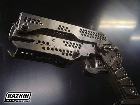 Metal Rubber Band Gun、と説明されていたもの