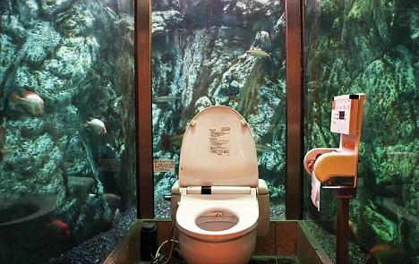 カフェ・ムーミンパパの女子トイレ