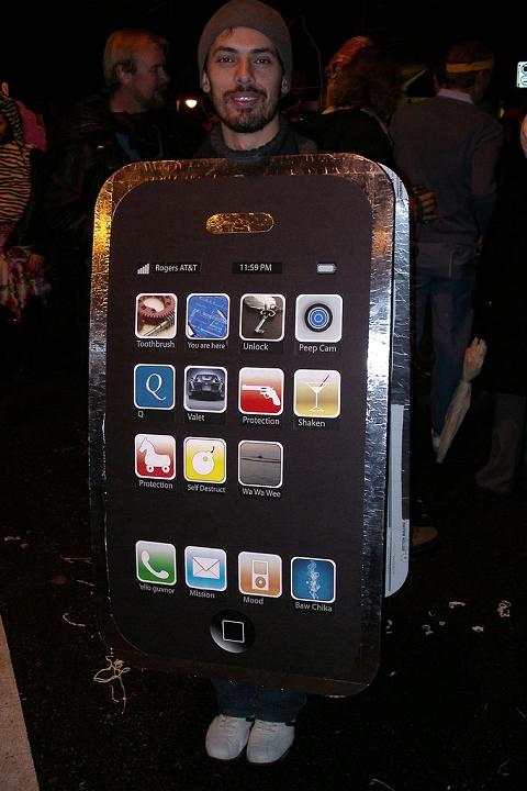iPhone 3G男あらわる