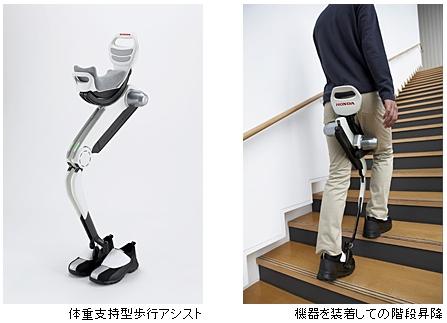体重支持型歩行アシスト