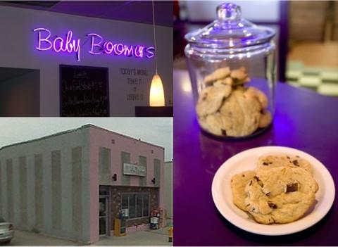 「Baby Boomers Cafe」とその」チョコチップクッキー