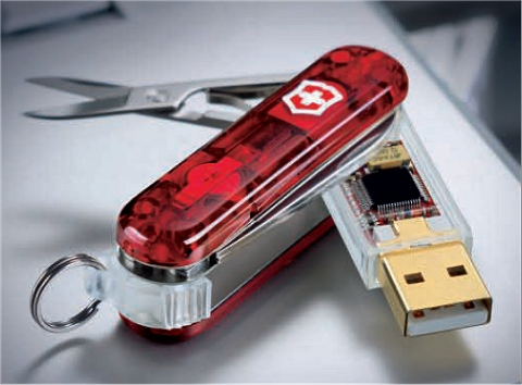 SwissFlash(十徳USB)