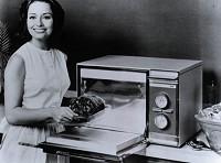 1960年代の電子レンジイメージ