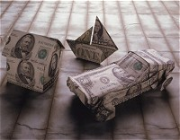 自動車とお金イメージ