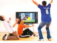 テレビを楽しむイメージ