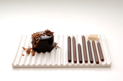 鉛筆型チョコにもうひとつアイディアを追加