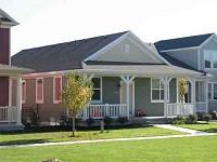 アメリカの小さな住宅イメージ