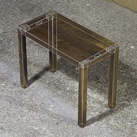 X線なテーブル