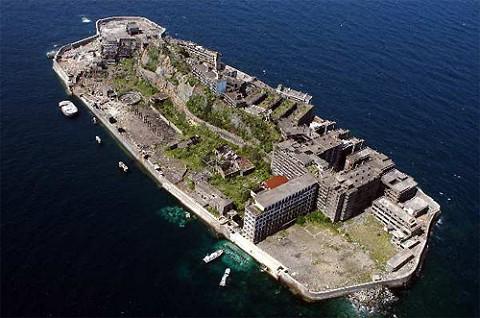 「軍艦島」全景