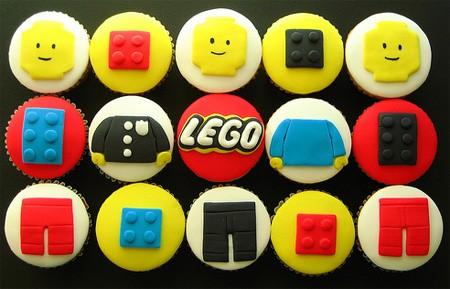 レゴなカップケーキ