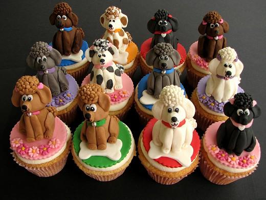 プードルカップケーキ