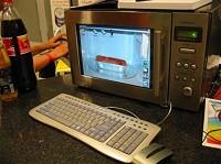 電子レンジ型パソコンイメージ