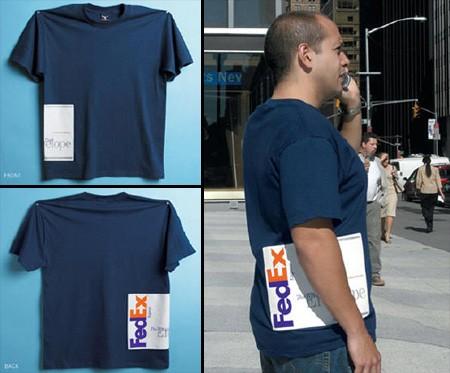FedExのキャンペーンTシャツ