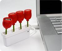 USBチューリップハブ(USB tulip hub)イメージ