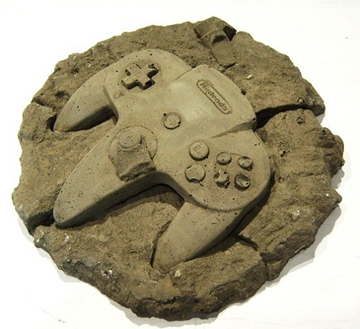 N64コントローラーな化石