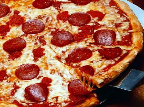 問題の「ピザのトッピングがないぞ」のやりとり。