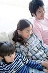 親子でテレビイメージ