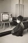 子どもテレビ視聴イメージ