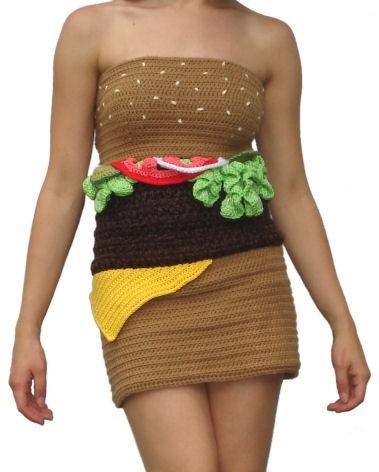 ハンバーガードレス