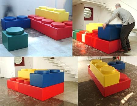レゴのソファー