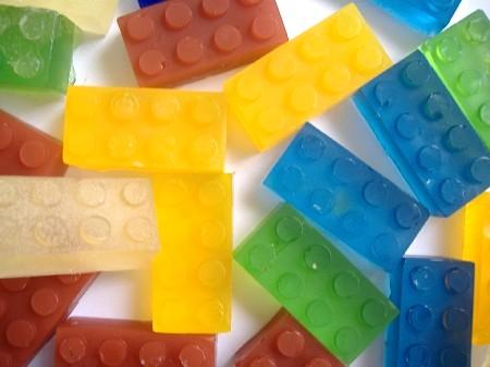レゴな石けん