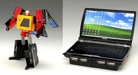 トランスフォーマー デヴァイスレーベル ブロードキャスト operating USB HUB