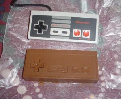NESコントローラーなチョコレート