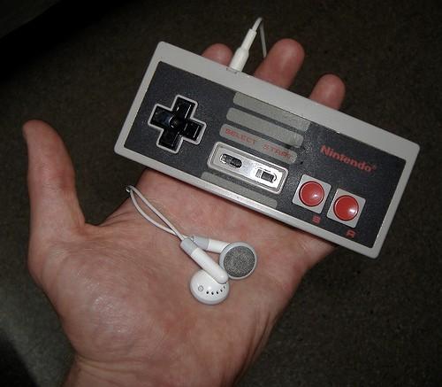 NESコントローラーなiPod