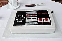 コントローラーなケーキイメージ