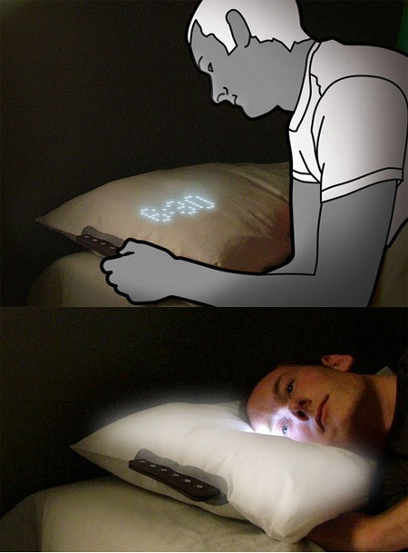 Pillow Alarm Clock(glo Pillow)