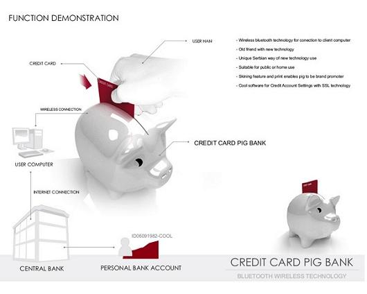 カードなデジタル貯金箱