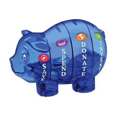 目的を分けて貯金したい人の貯金箱