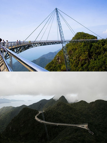 Langkawi Sky Bridge。