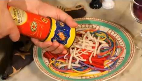 はじめに目に留まった作品、「ウェスタンスパゲッティ(Western Spaghetti by PES)」。