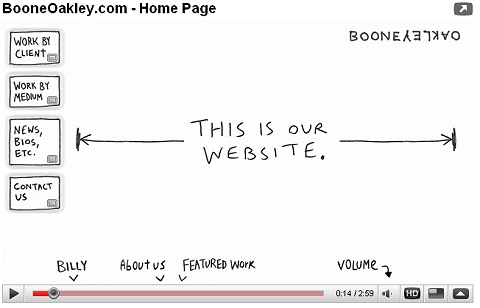 BooneOakley社の公式ページこと公式動画