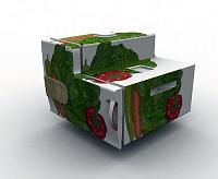 例えば野菜室のパーツをこんな感じに……イメージ