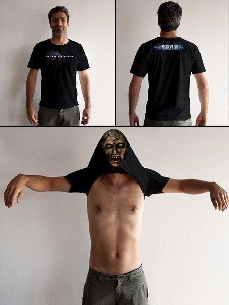 『バイオハザード』なTシャツ。