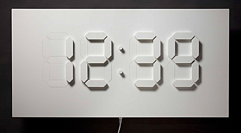 D/A Clock 2008。