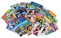 アメリカの主要雑誌イメージ