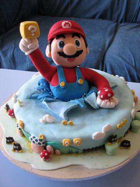 マリオなケーキ