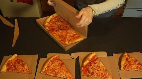 画期的なピザパッケージ「Green Box」。