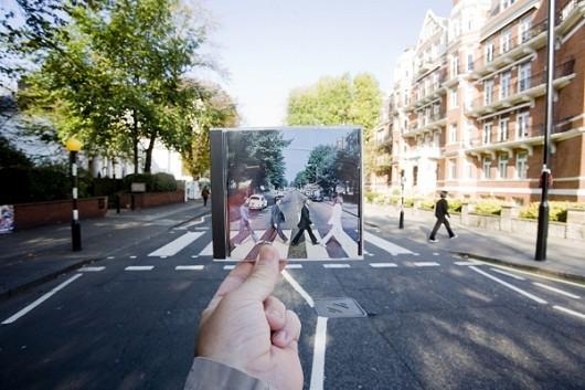 世界一有名な交差点、イギリス・ロンドンのAbbeyロード。ビートルズのCDジャケットが撮られた場所としてあまりにも有名。