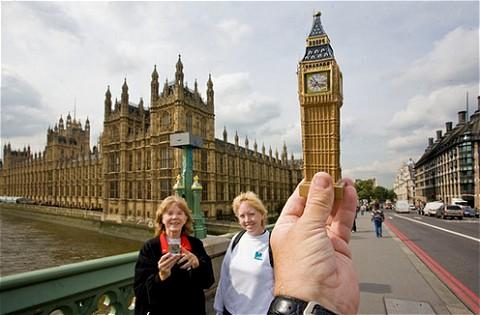 イギリス・ロンドンのビッグベンも。実はこの写真、本物のビッグベンと見分けがつかず、記事タイトルにもあるように見た瞬間「何コレ!?」と驚いてしまった