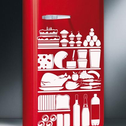 冷蔵庫もクリエイティブな置物に早変わり。