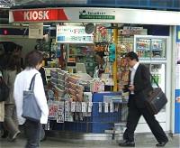 駅の売店イメージ