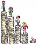 金融資産の不均衡イメージ
