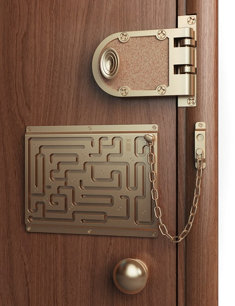「Defendius door chain」