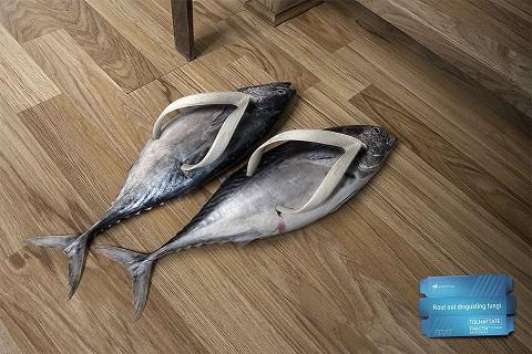 お魚なスリッパ