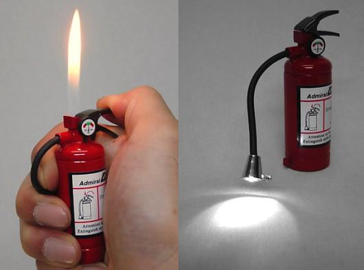 消火器型ライター