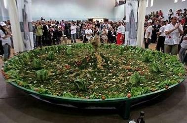 世界最大のタブーラサラダ